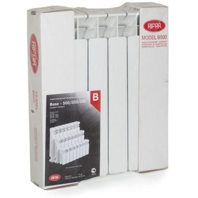 Биметаллический радиатор Rifar Base 500 - 7 секций