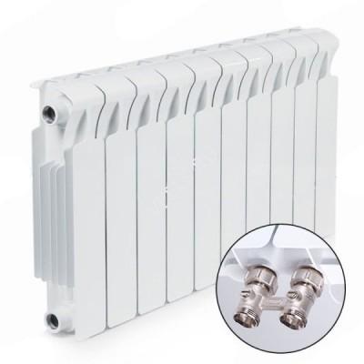 Биметаллический радиатор Rifar Monolit Ventil 500 - 8 секций