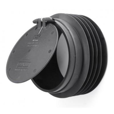Обратный клапан  ф50 серый
