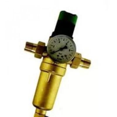 Фильтр TIM тон очистки с монометром 1/2 металл