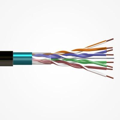 Интернет кабель FTP медь 4(8) CAT 6E 24