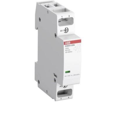 Модульный контактор АВВ ESB 20 (11А АС1) 220В