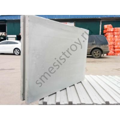 Пазогребневая плита ПГП Волма (667х500х100)