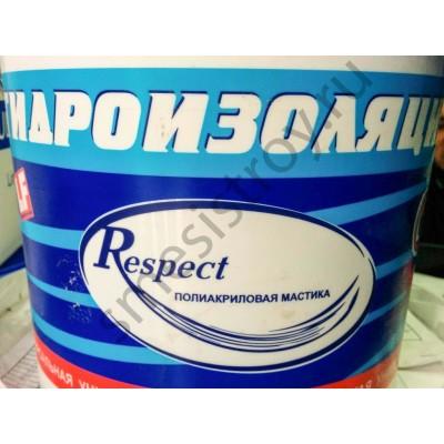 Гидроизоляция обмазочная  10кг Респект