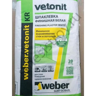 Шпатлевка Ветонит КР 20кг (Vetonit KR)