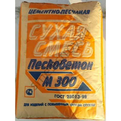 Пескобетон М300 40кг (Эконм)